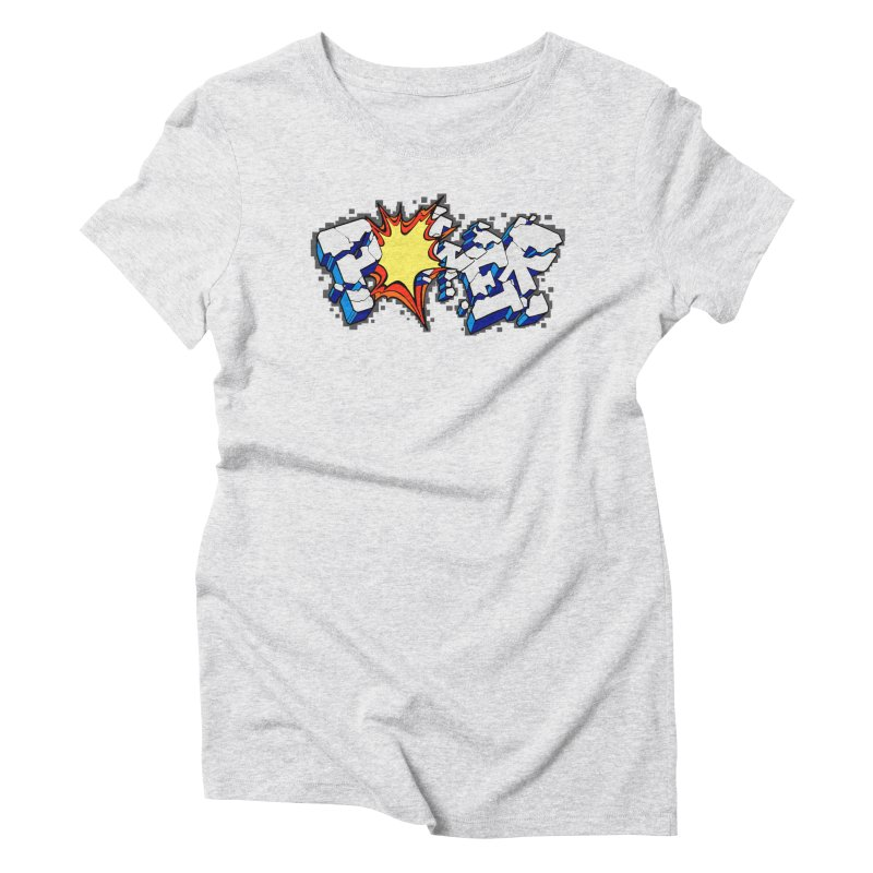 POWER explode Women's T-Shirt by Power Artist Shop