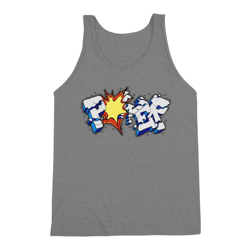 POWER explode Men's Triblend Tank by Power Artist Shop