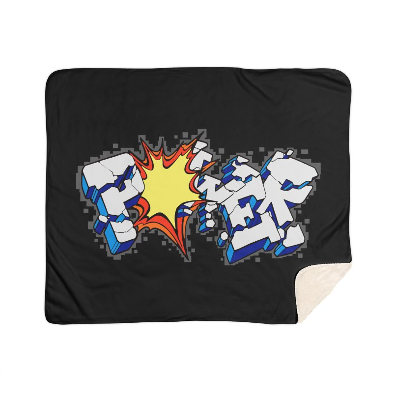 POWER explode Home Blanket by Power Artist Shop