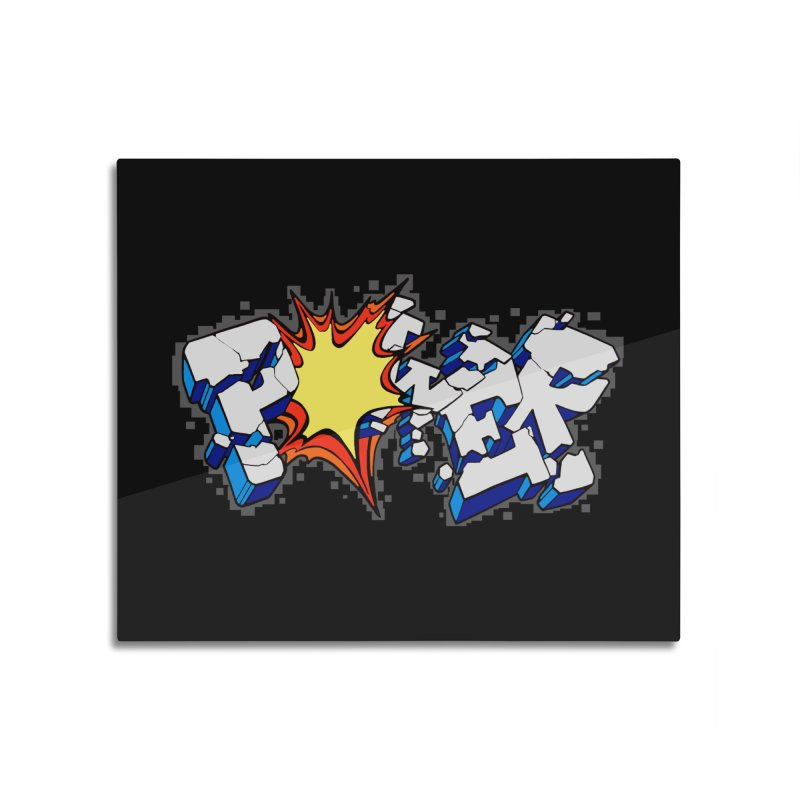 POWER explode Home Mounted Acrylic Print by Power Artist Shop