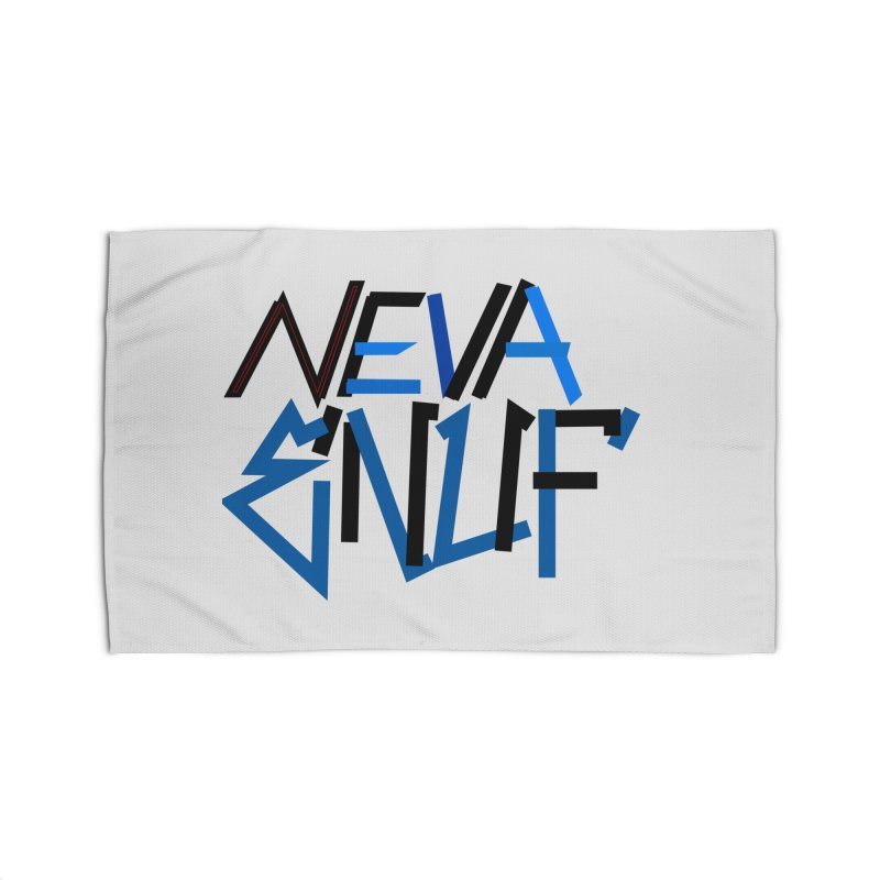 Neva Enuf Home Rug by Power Artist Shop