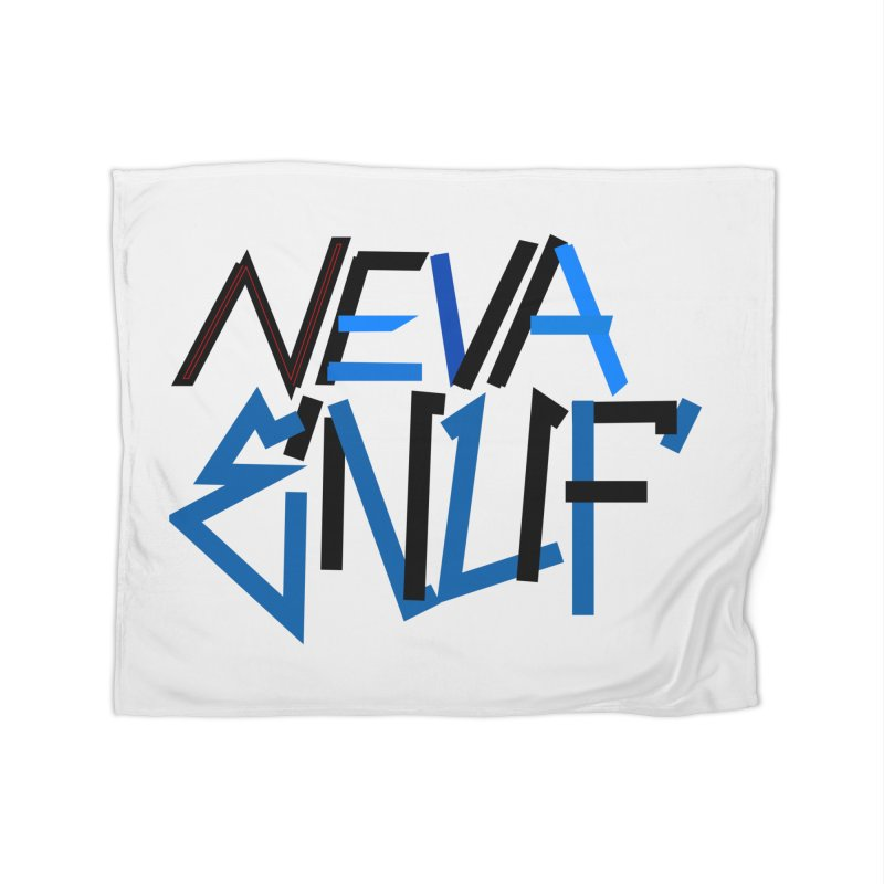 Neva Enuf Home Fleece Blanket Blanket by Power Artist Shop
