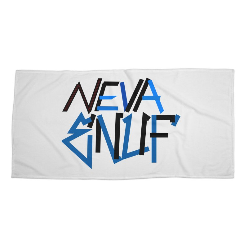 Neva Enuf Accessories Beach Towel by Power Artist Shop
