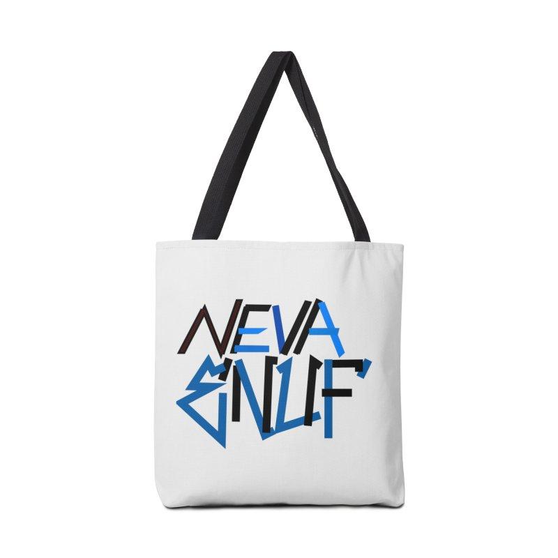 Neva Enuf Accessories Tote Bag Bag by Power Artist Shop