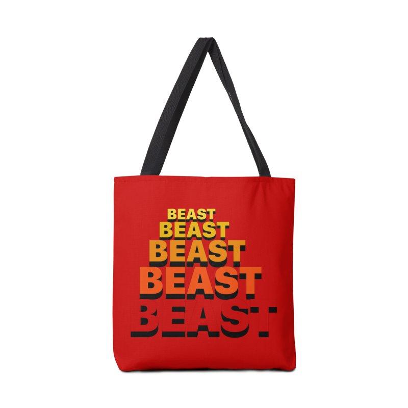 Beast Beast Beast Accessories Tote Bag Bag by Power Artist Shop