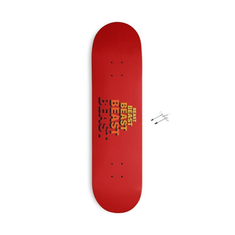 Beast Beast Beast Accessories Skateboard by Power Artist Shop