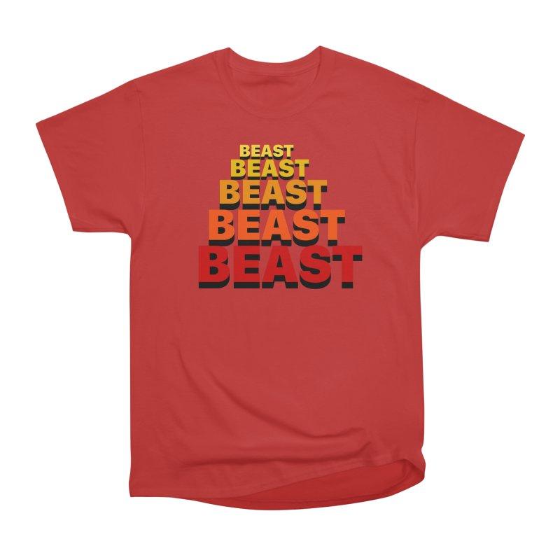 Beast Beast Beast Men's Heavyweight T-Shirt by Power Artist Shop