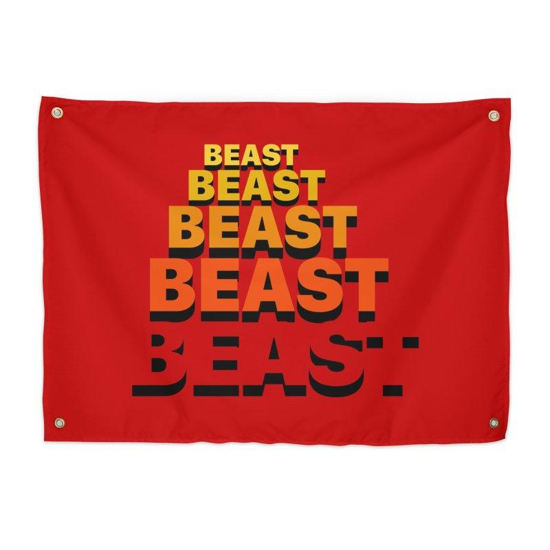 Beast Beast Beast Home Tapestry by Power Artist Shop