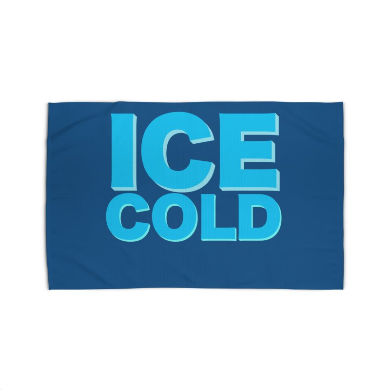 ICE Cold Home Rug by Power Artist Shop