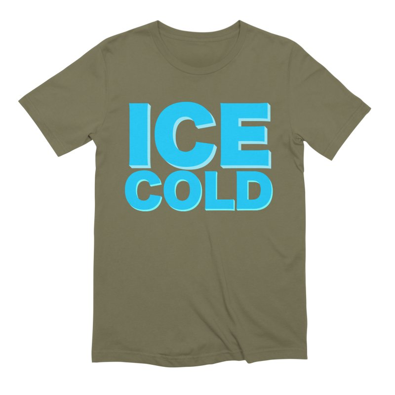 ICE Cold Men's Extra Soft T-Shirt by Power Artist Shop