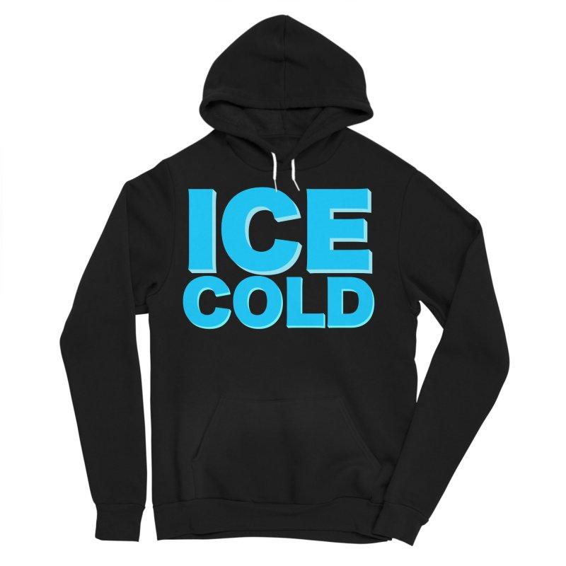 ICE Cold Men's Sponge Fleece Pullover Hoody by Power Artist Shop