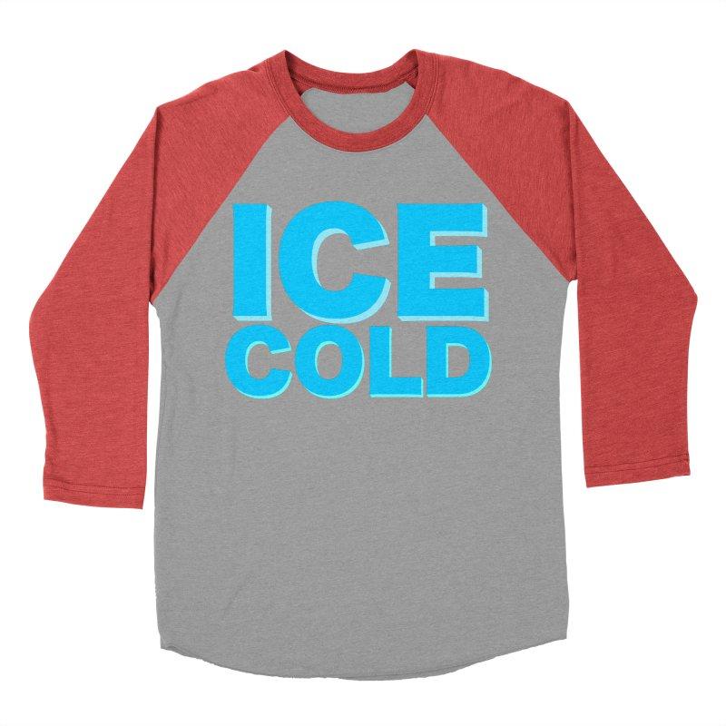 ICE Cold Men's Baseball Triblend Longsleeve T-Shirt by Power Artist Shop