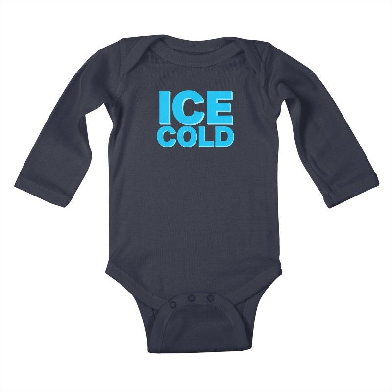 ICE Cold Kids Baby Longsleeve Bodysuit by Power Artist Shop