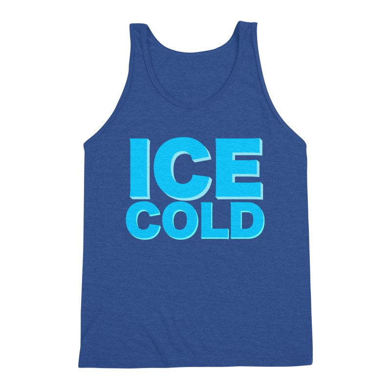 ICE Cold Men's Triblend Tank by Power Artist Shop