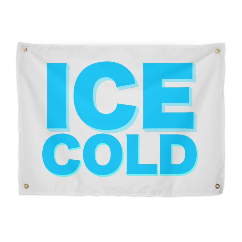 ICE Cold Home Tapestry by Power Artist Shop