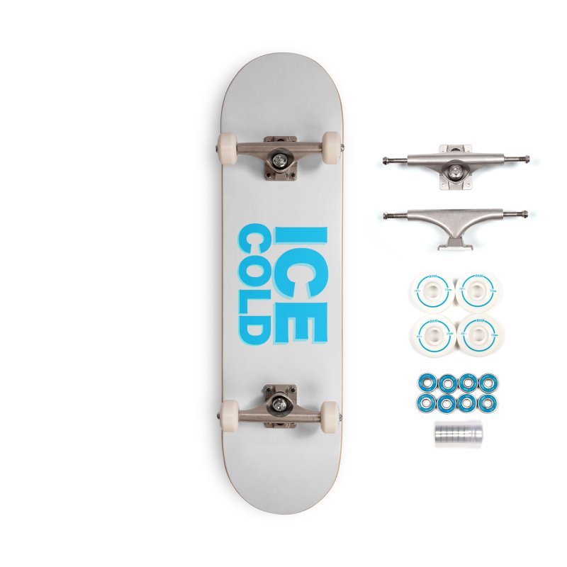 ICE Cold Accessories Complete - Basic Skateboard by Power Artist Shop