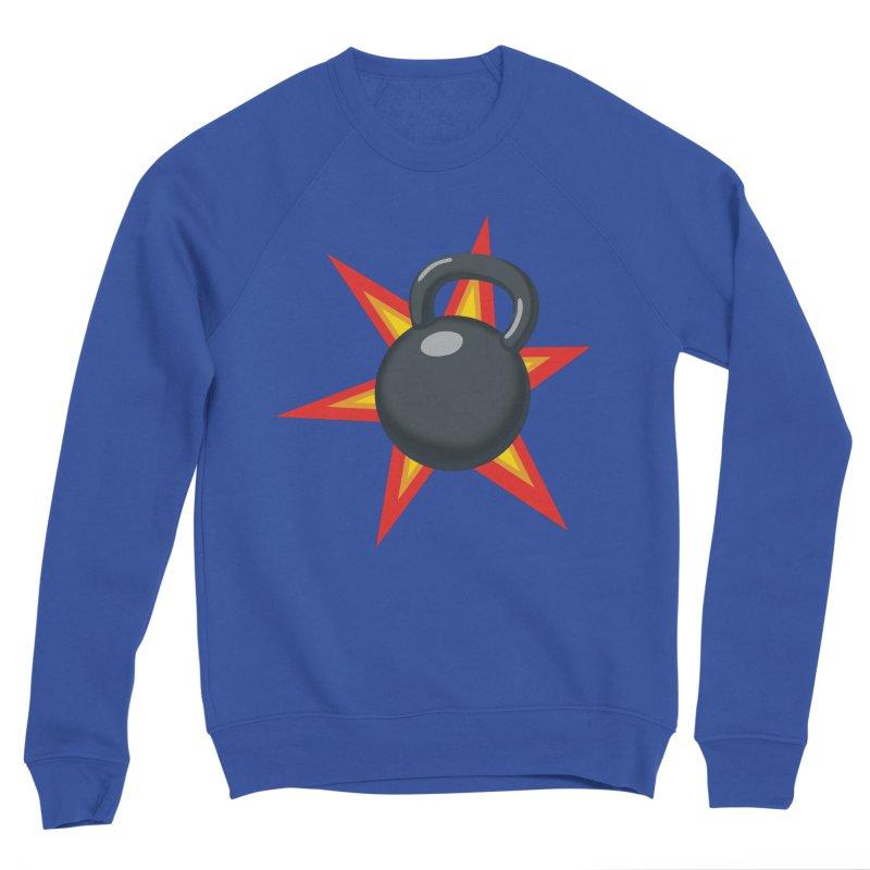 Kettlebell Men's Sweatshirt by Power Artist Shop