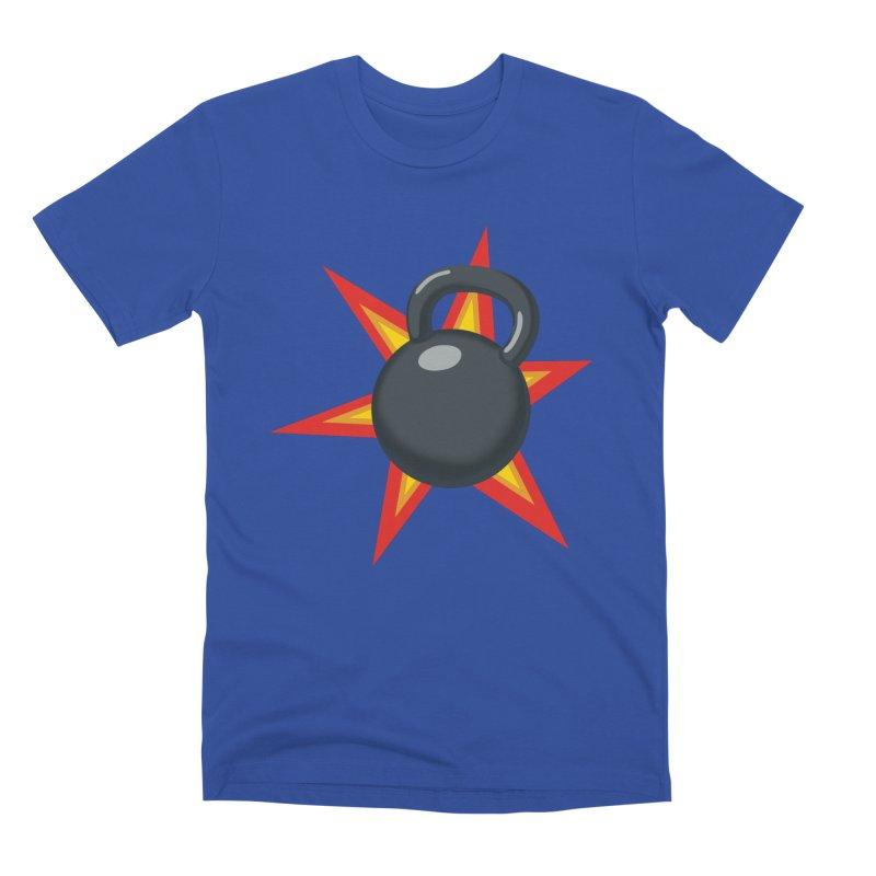 Kettlebell Men's Premium T-Shirt by Power Artist Shop