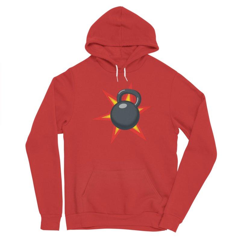 Kettlebell Men's Pullover Hoody by Power Artist Shop