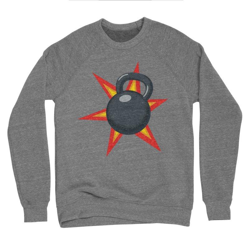 Kettlebell Women's Sponge Fleece Sweatshirt by Power Artist Shop