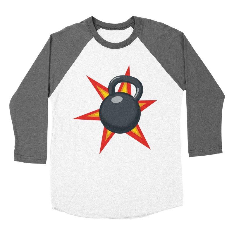 Kettlebell Women's Longsleeve T-Shirt by Power Artist Shop