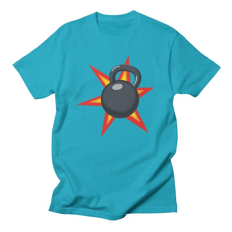 Kettlebell Women's Regular Unisex T-Shirt by Power Artist Shop
