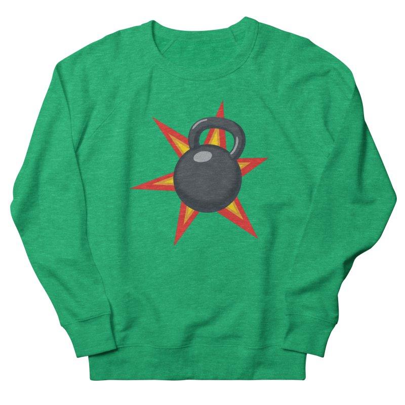 Kettlebell Women's Sweatshirt by Power Artist Shop