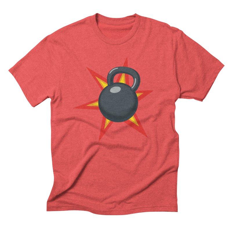 Kettlebell Men's Triblend T-Shirt by Power Artist Shop