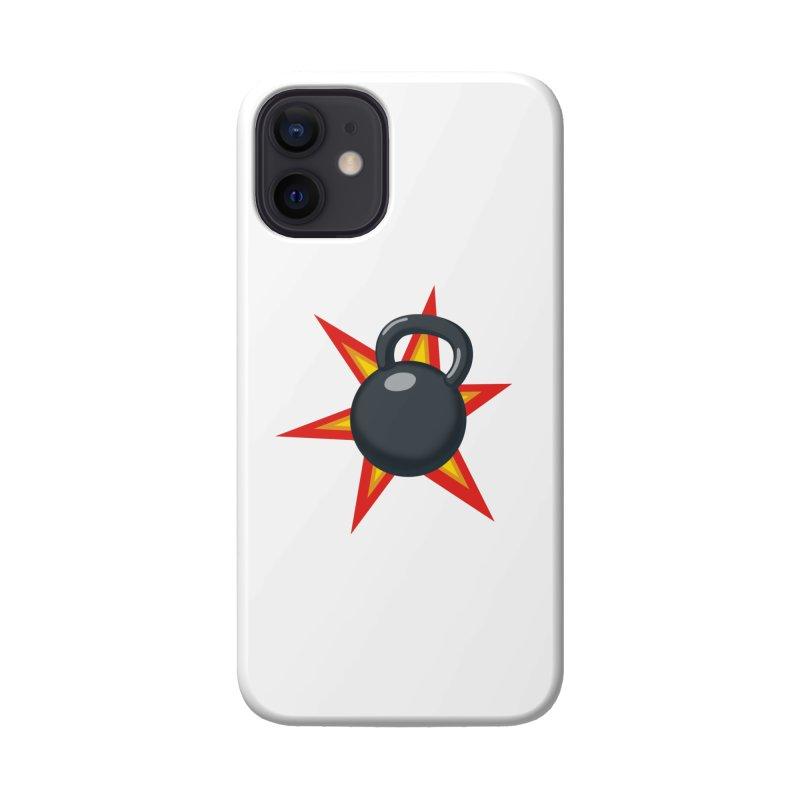 Kettlebell Accessories Phone Case by Power Artist Shop