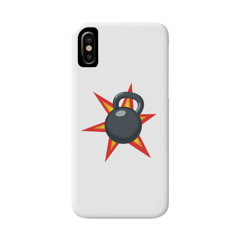 Kettlebell Accessories Phone Case by Power Artist Shop
