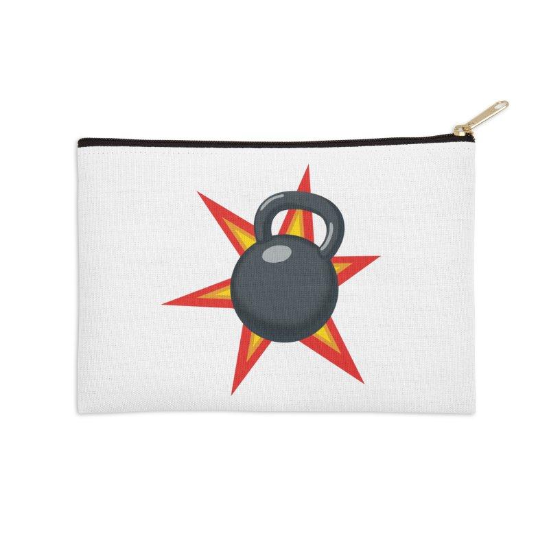 Kettlebell Accessories Zip Pouch by Power Artist Shop