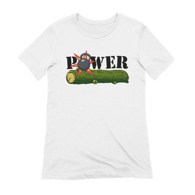 Power Women's Extra Soft T-Shirt by Power Artist Shop