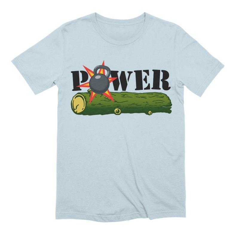 Power Men's Extra Soft T-Shirt by Power Artist Shop