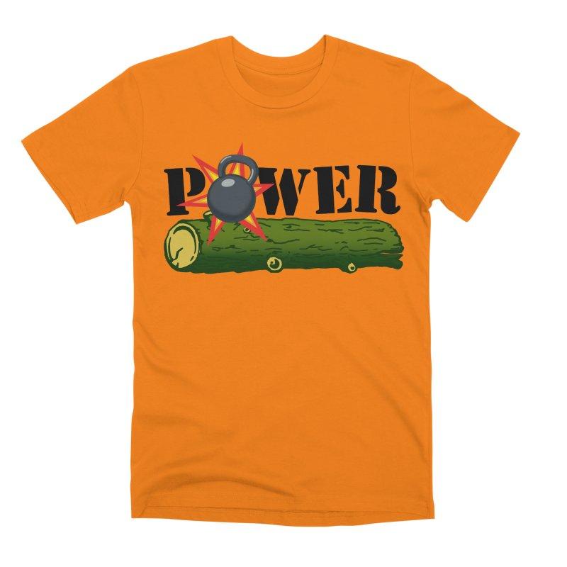 Power Men's T-Shirt by Power Artist Shop