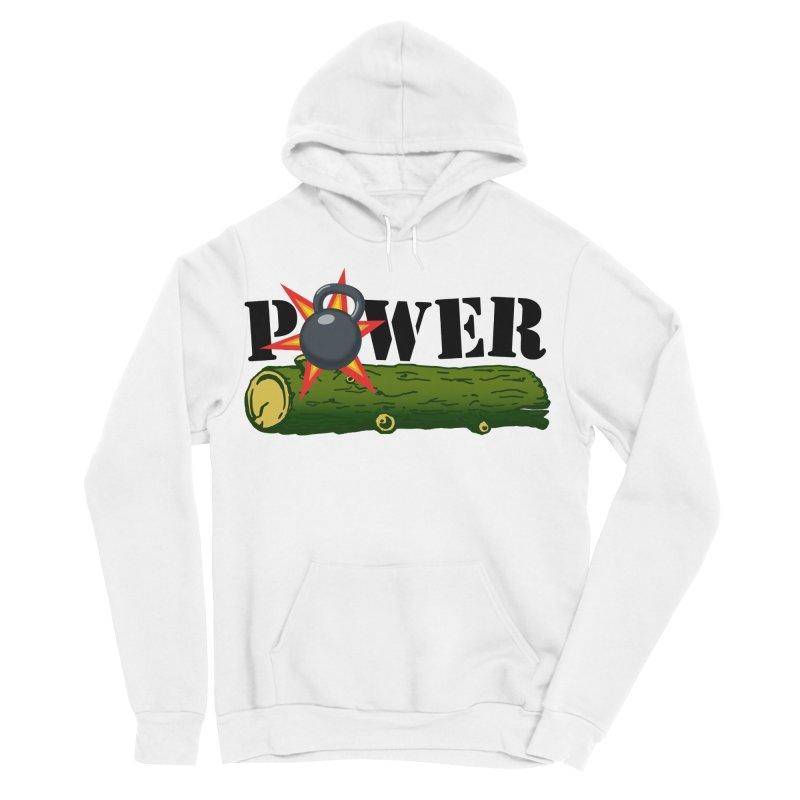 Power Men's Sponge Fleece Pullover Hoody by Power Artist Shop
