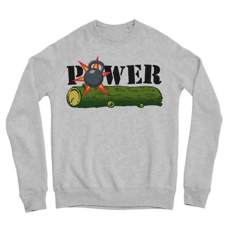 Power Women's Sponge Fleece Sweatshirt by Power Artist Shop