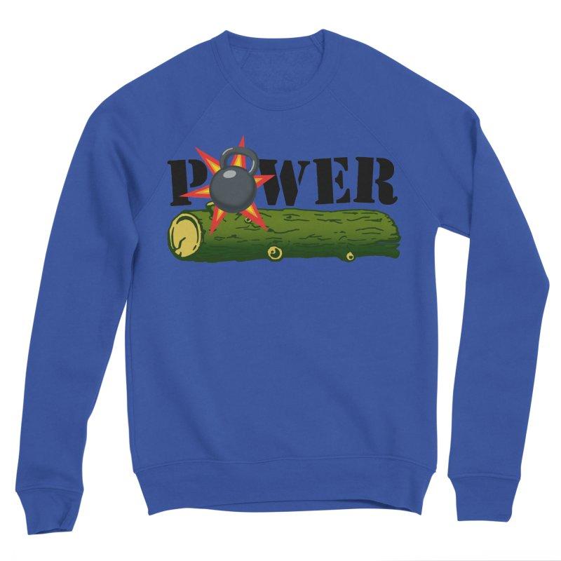 Power Men's Sponge Fleece Sweatshirt by Power Artist Shop