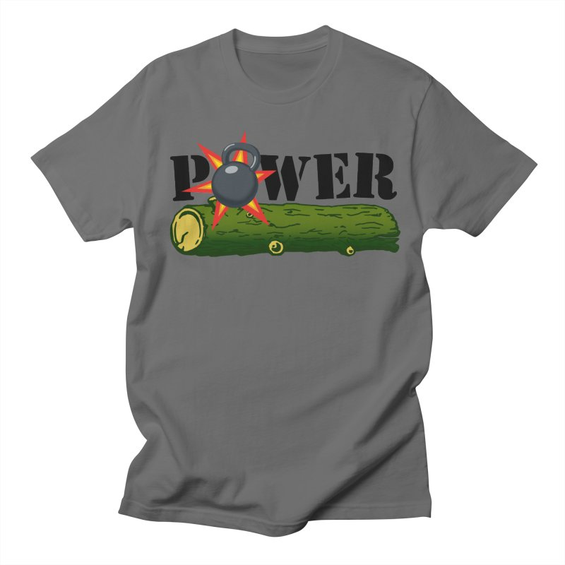 Power Men's T-Shirt by Power Artist Shop