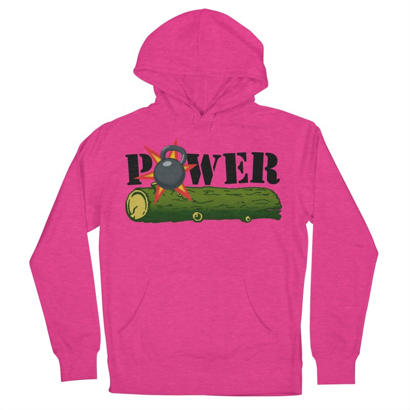 Power Men's French Terry Pullover Hoody by Power Artist Shop