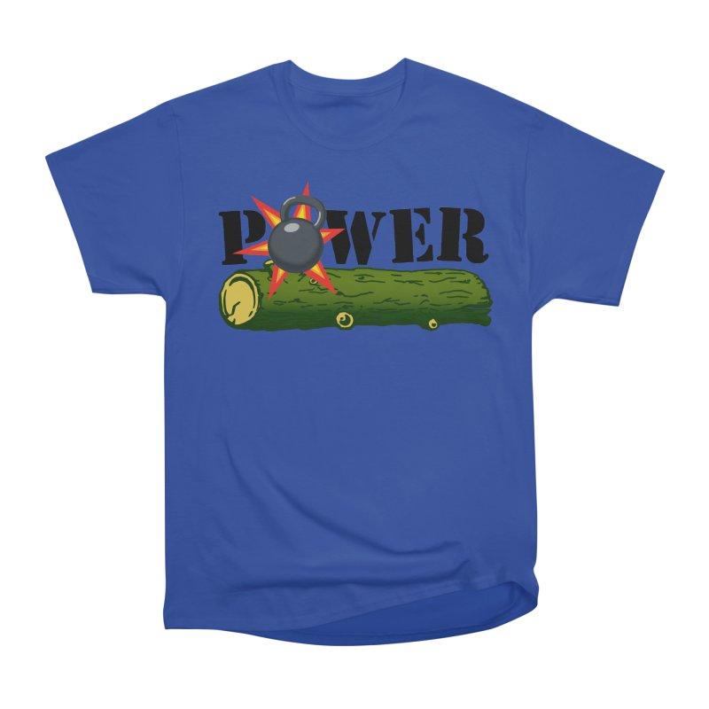 Power Men's Heavyweight T-Shirt by Power Artist Shop