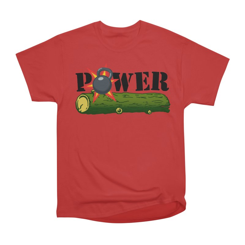Power Women's Heavyweight Unisex T-Shirt by Power Artist Shop