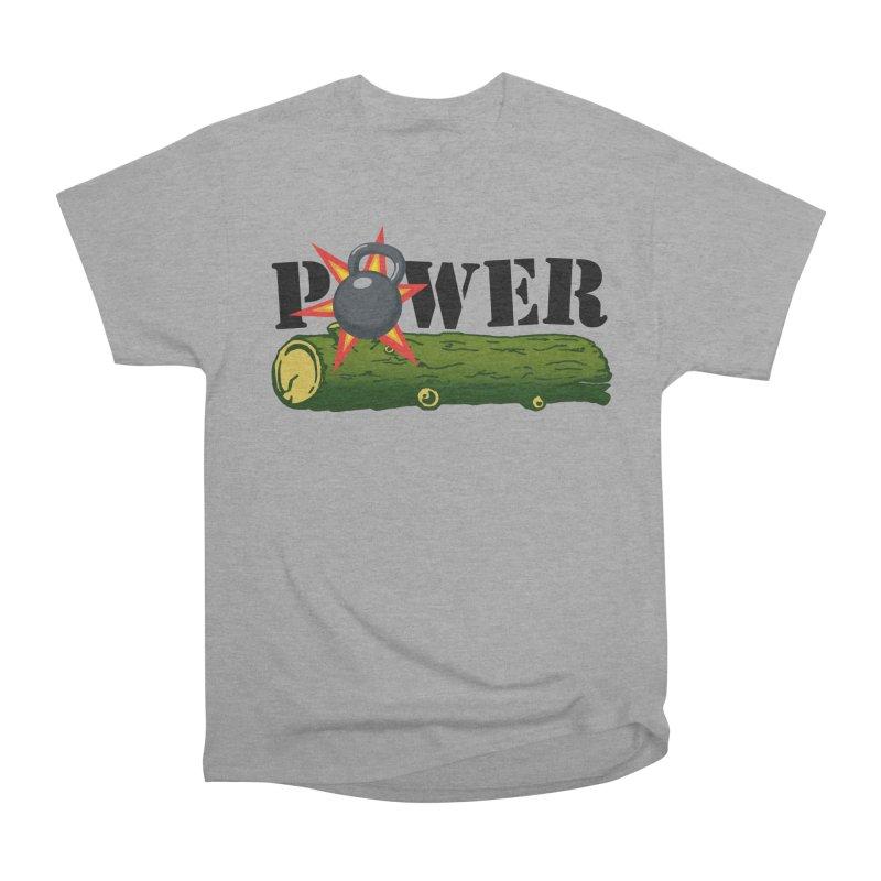 Power Women's Heavyweight Unisex T-Shirt by Power Artist Shop