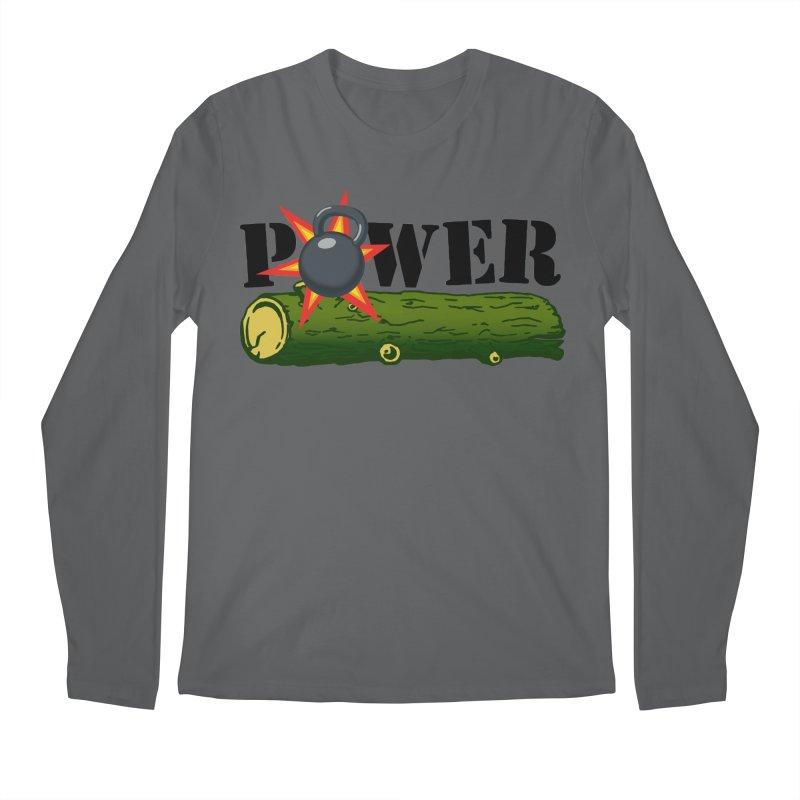 Power Men's Longsleeve T-Shirt by Power Artist Shop
