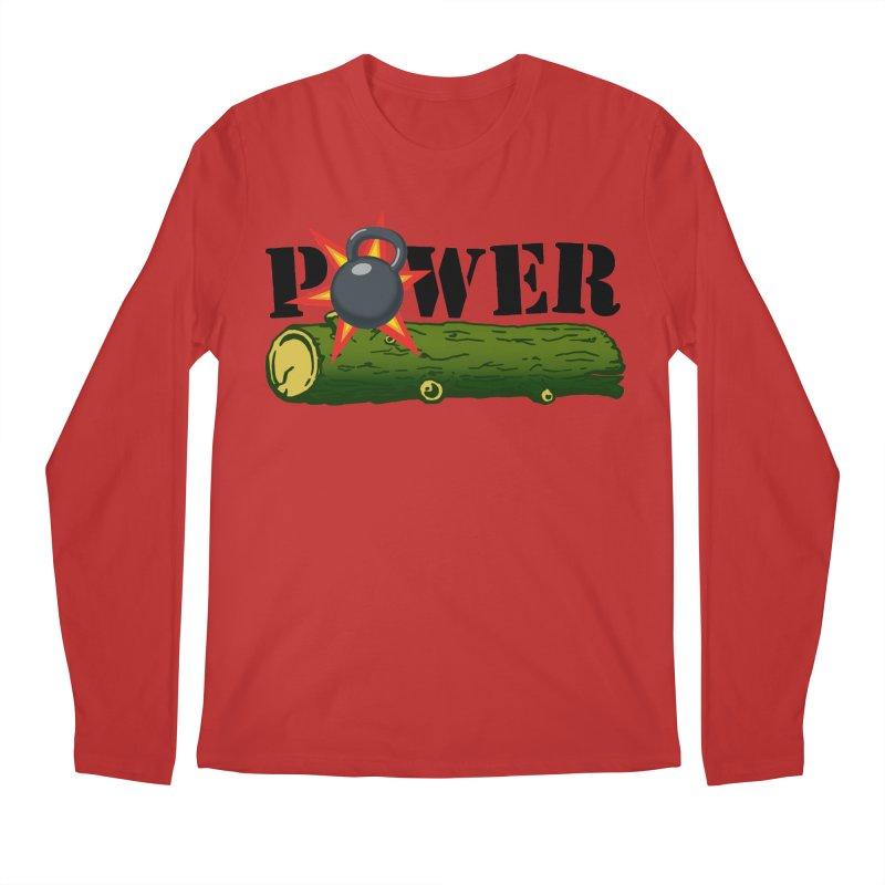 Power Men's Regular Longsleeve T-Shirt by Power Artist Shop