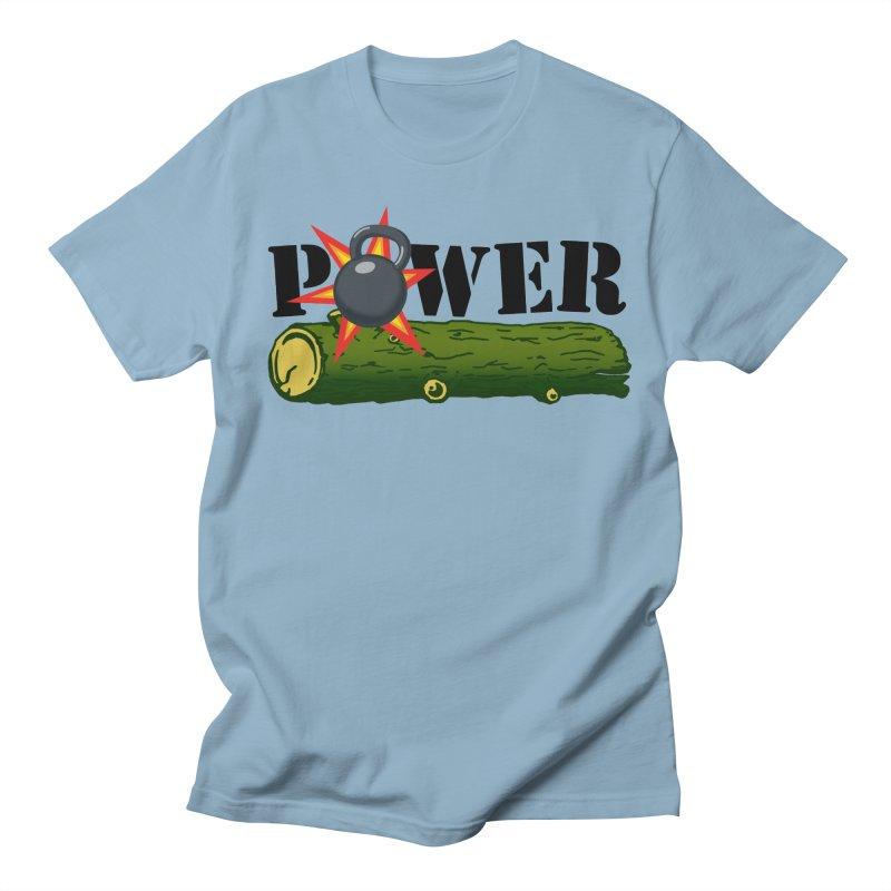 Power Women's Regular Unisex T-Shirt by Power Artist Shop