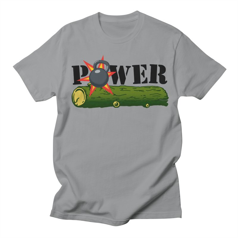 Power Men's Regular T-Shirt by Power Artist Shop