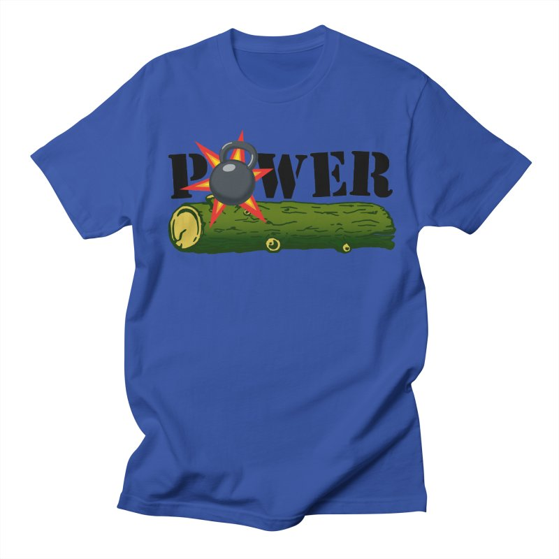 Power Men's Regular T-Shirt by Power Artist Shop