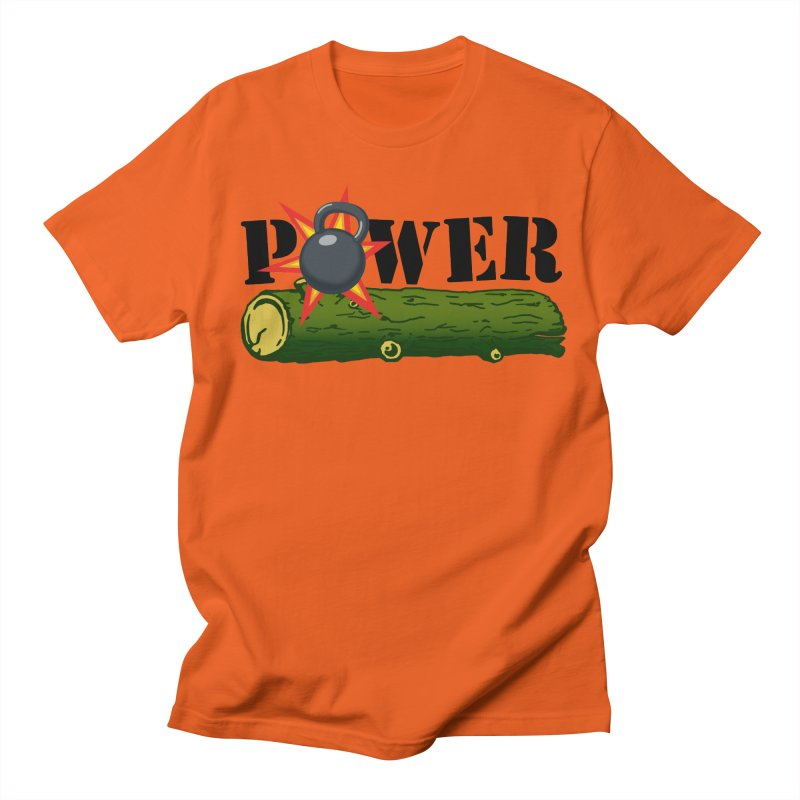 Power Women's Regular Unisex T-Shirt by Power Artist Shop