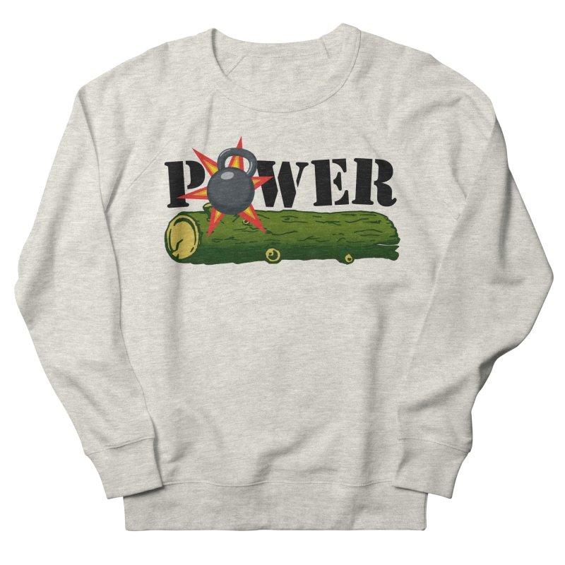 Power Men's French Terry Sweatshirt by Power Artist Shop