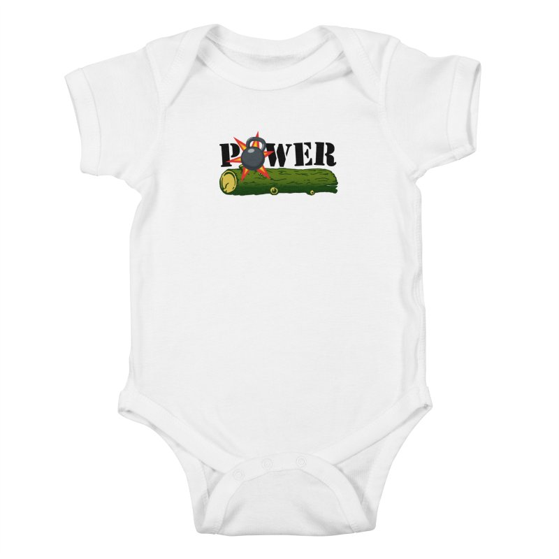 Power Kids Baby Bodysuit by Power Artist Shop